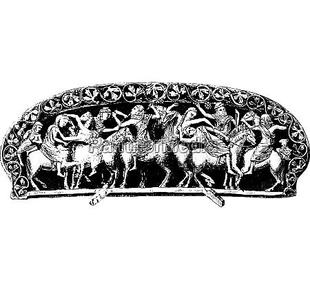 mr spitzer collection pommel carved ivory