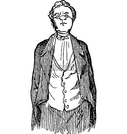 the author thackeray designed by himself