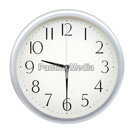 analog wall clock
