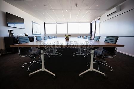 empty modern meeting room
