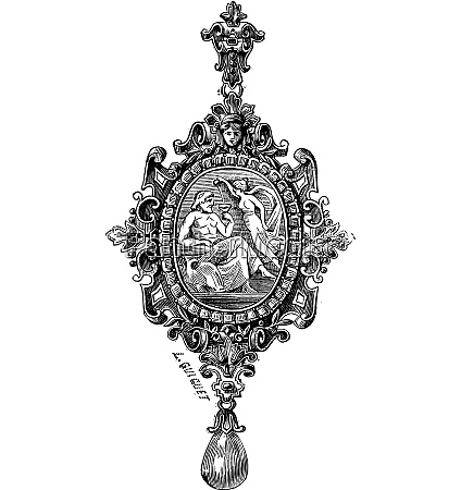the pendant by francois desire froment