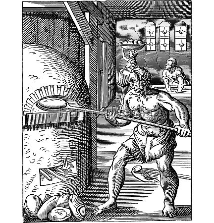 baker of the sixteenth century vintage