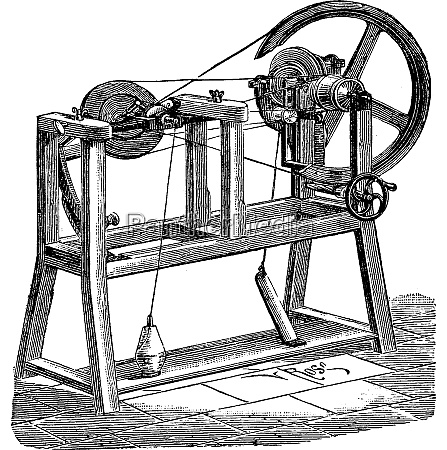 flattening for cotton sewing vintage engraving