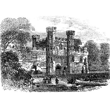 battle abbey hastings east sussex england