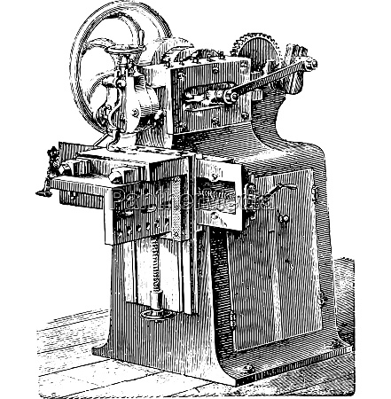 shaper vintage engraving