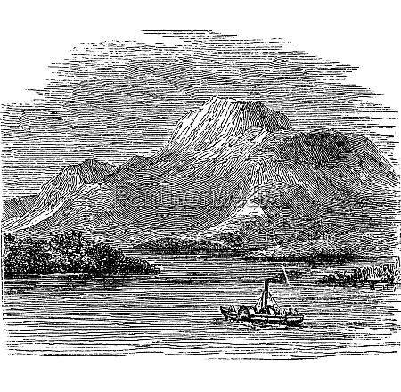 loch lomond on highland boundary fault
