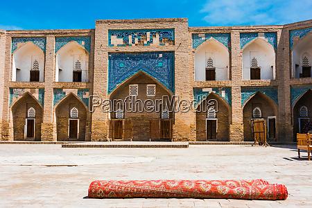 historic architecture of khiva uzbekistan