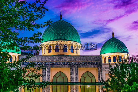 khoja ahror valiy mosque in tashkent