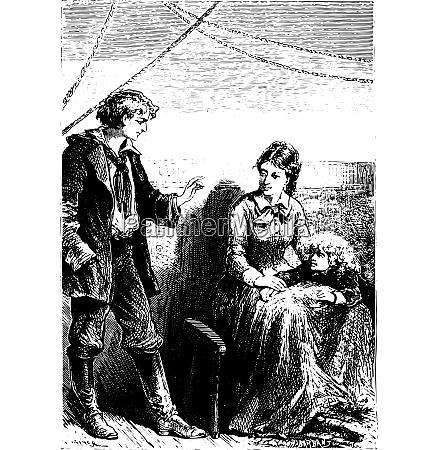 the novice always reassured mrs weldon