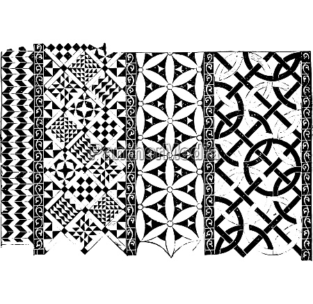 tiles of the church saint denis
