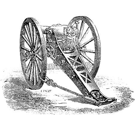 canon 80mm mountain model 1878 vintage