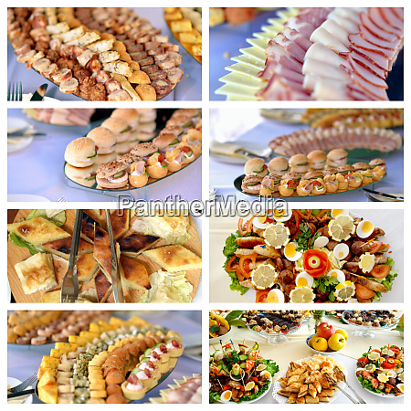 various catering food image