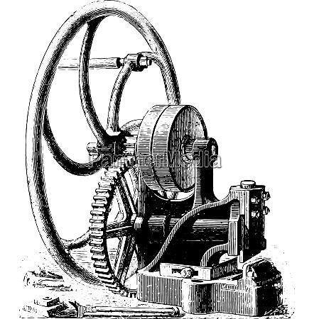 guillotine vintage engraving