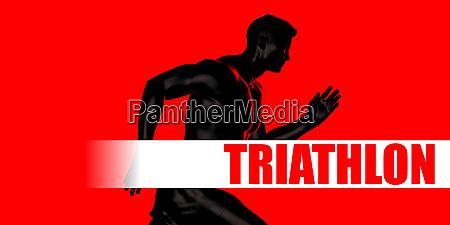 triathlon concept