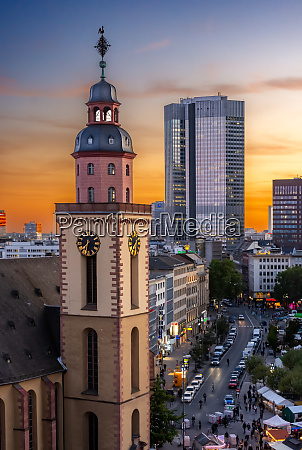 aerial, view, over, over, frankfurt, at - 27620403