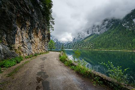 gosau lake in austria
