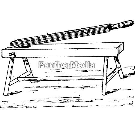 hand press vintage engraving