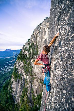 rock climb of heatwave on top