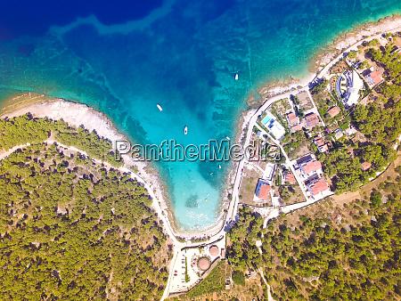 aerial view of sutivan bay
