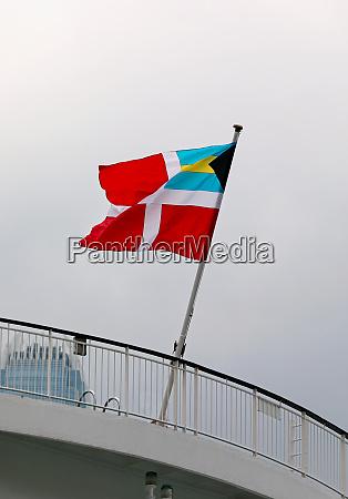 bahamian civil flag