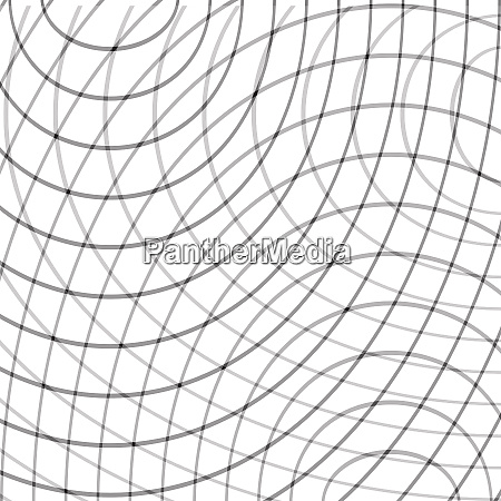 black and white oval criss cross