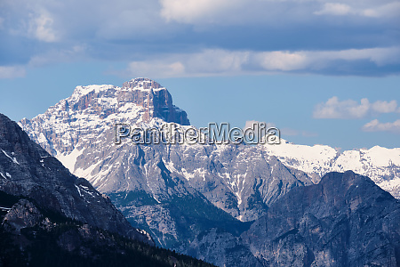 rocks and mountains in south tirol