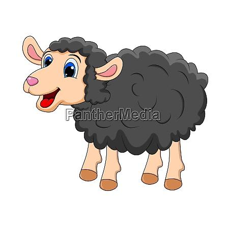 black sheep cute smilng funny sweet