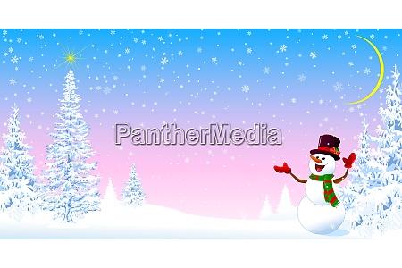 snowman welcomes christmas 2