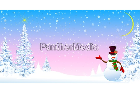 snowman, welcomes, christmas, 1 - 27634009