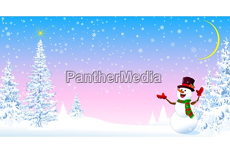 snowman, welcomes, christmas, 2 - 27634010
