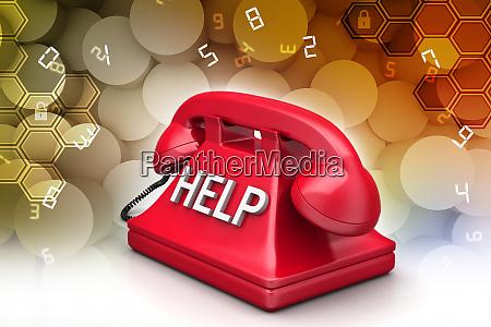 help desk concept