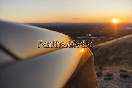 car hood at treasure valley at