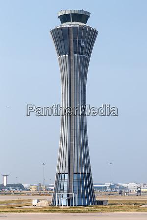 beijing capital international airport tower in