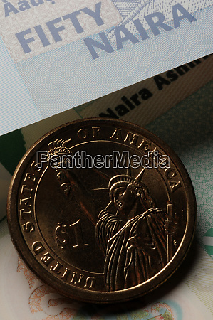 us dollar on nigerian naira