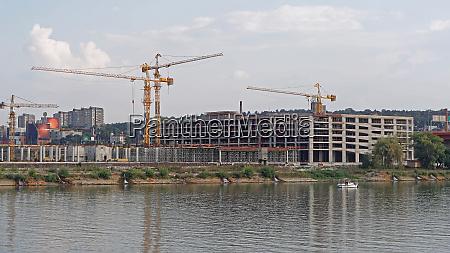 construction site belgrade