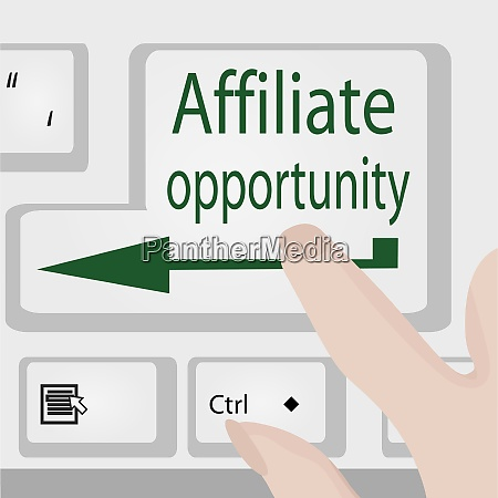 affiliate opportunity button