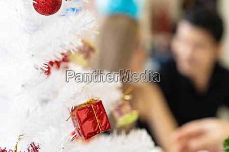 background of couple celebrate new year