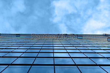background texture of business building over