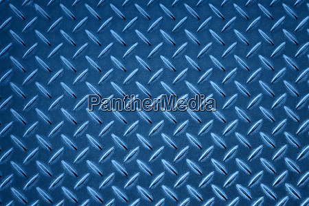 anti slip blue metal plate with