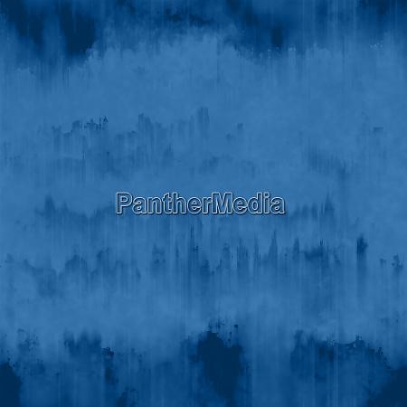 dark blue grunge ink runs and