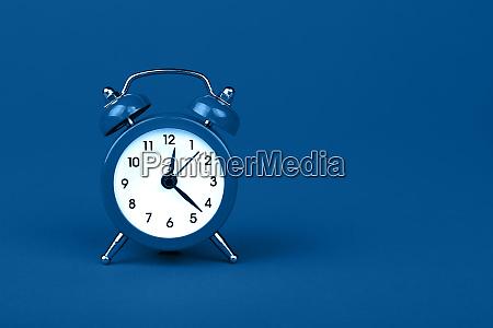 close up one classic alarm clock
