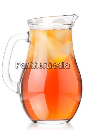 iced kombucha tea mushroom jug paths