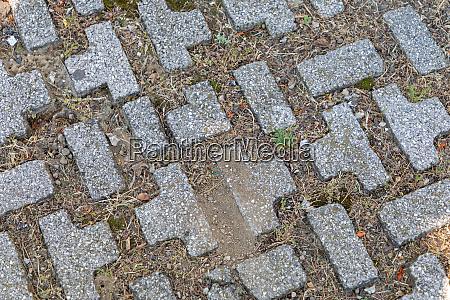 puzzle sahped blocks