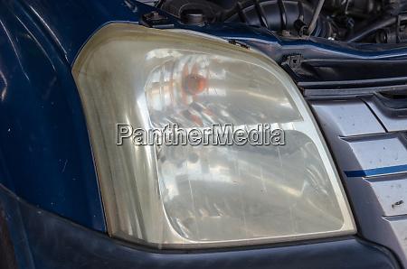 headlights dim