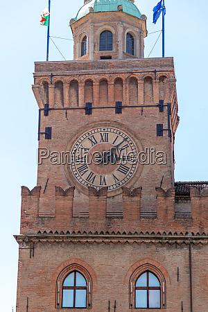 bologna clock tower