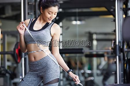 female fitness gym diet