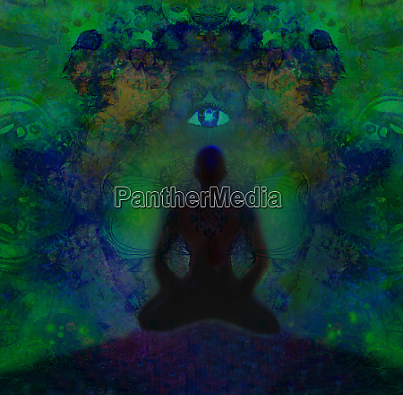 man with third eye psychic supernatural