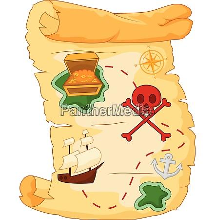 treasure map symbol