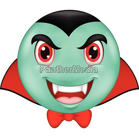vampire smiley emoticon