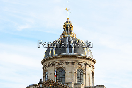 ornate gilded dome of the french